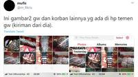 Fetish menjadi perbincangan setelah akun @m_fikris membuat sebuah utas berjudul Predator Fetish Kain Jarik Berkedok Riset Akademik dari Mahasiswa PTN di SBY, di Twitter dan langsung menjadi trending topik lalu viral sepanjang Kamis, 30 Juli 2020. (Tangkapan Layar Twitter @m_fikris)