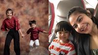 Tiwi Eks T2 dan Anaknya (Sumber: Instagram//tentangtiwi/)
