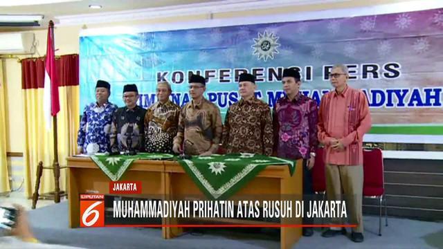 Ketum Muhammadiyah Haedar Nashir sampaikan rasa prihatin terhadap kerusuhan yang menimbulkan kerusakan dan memakan korban jiwa.