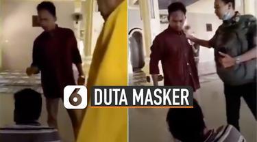 Kini pemuda pembentak yang bernama Nawir dan Alfa diangkat jadi duta masker.