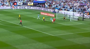 Berita video gol-gol yang tercipta pada final Piala FA 2018-2019 antara Manchester City melawan Watford di Wembley, London, Sabtu (18/5/2019).