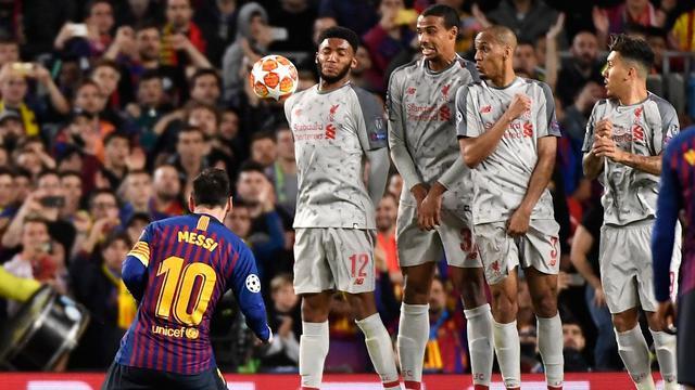 Dua Gol Lionel Messi Antar Barcelona Taklukan Liverpool