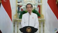 Presiden Joko Widodo (Jokowi) dalam UOB Economic Outlook 2022, Rabu (15/9/2021).