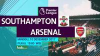 Premier League_Southampton Vs Arsenal (Bola.com/Adreanus Titus)