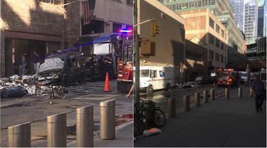 Kebakaran mobil NY (0)