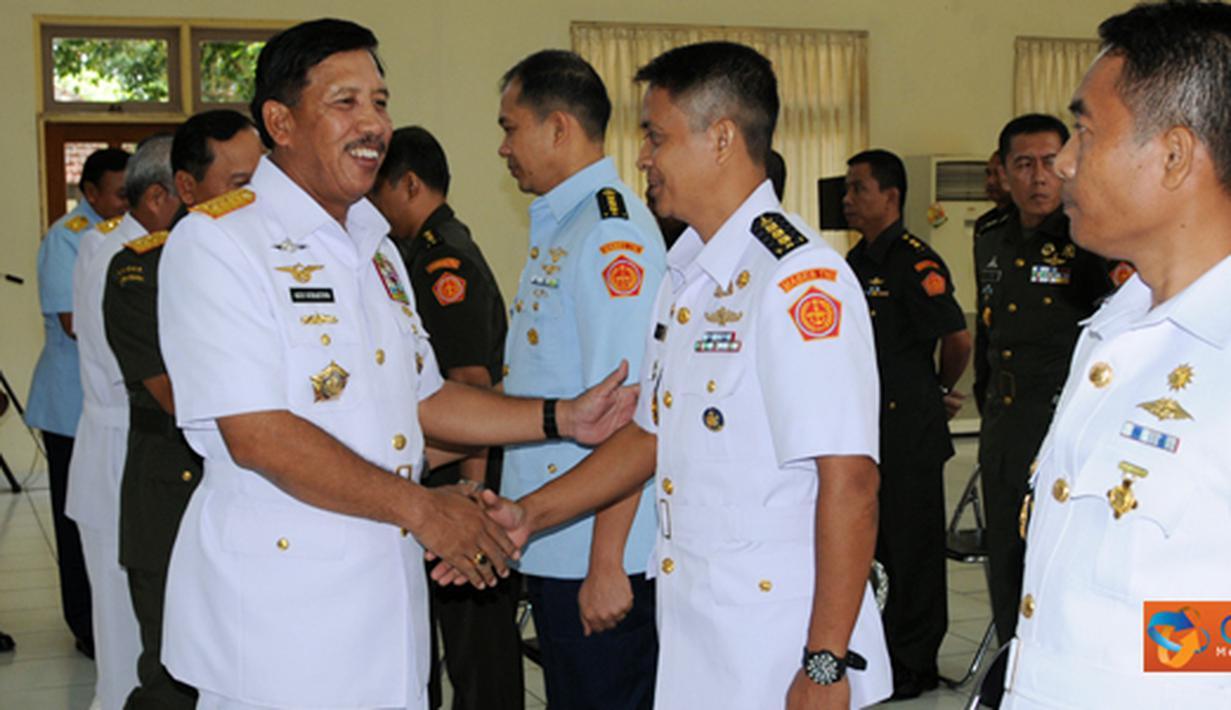 Citizen6, Bogor: Dalam kesempatan tersebut, Panglima TNI memberikan beberapa penekanan dan pedoman kepada para perwira. (Pengirim: Badarudin Bakri)