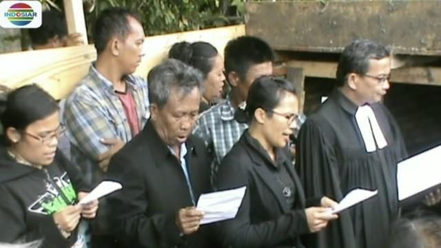 Keluarga berharap aparat kepolisian dapat segera mengungkap kasus pembunuhan tersebut.