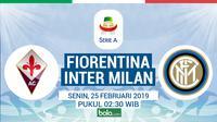 Serie A : Fiorentina Vs Inter Milan (Bola.com/Adreanus Titus)