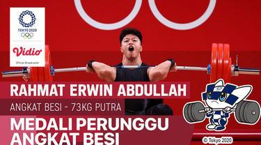 Berita Video Angkat Besi Kembali Sumbang Medali di Olimpiade Tokyo 2020, Rahmat Erwin Abdullah Raih Perunggu