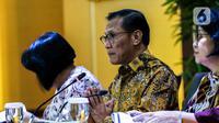 Kepala Badan Pusat Statistik (BPS) Suhariyanto menyampaikan keterangan terkait kondisi ekspor dan impor pada Januari 2020 di Gedung BPS, Jakarta, Senin (17/2/2020). Nilai ekspor dan impor Januari 2020 terkoreksi mengalami penurunan dibandingkan posisi bulan sebelumnya. (Liputan6.com/Faizal Fanani)