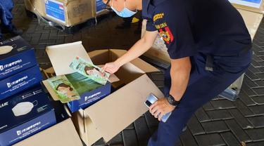 Hibah 26 Ribu Masker Dari Korsel, Bea Cukai Beri Kemudahan dan Fasilitas Fiskal