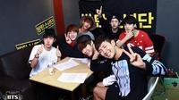 BTS pada 2013. (Big Hit Entertainment via Facebook: bangtan.official)