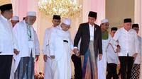 Ketum MUI Ma'ruf Amin dan Jokowi. (Instagram Jokowi)