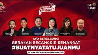 Dalam rangka mendukung perkembangan 'sociopreneur', Kapal Api bekerja sama dengan Badan Ekonomi Kreatif Republik Indonesia (BEKRAF)
