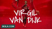 Liverpool - Virgil van Dijk (Bola.com/Adreanus Titus)