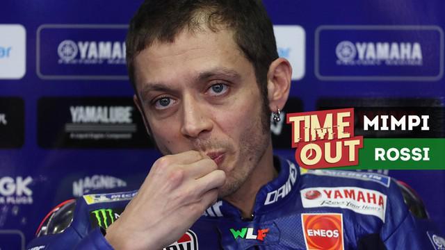 Berita video Time Out kali ini tentang mimpi yang mengejutkan Valentino Rossi sebelum dirinya pensiun dari MotoGP.