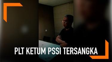Pelaksana tugas Ketua Umum Persatuan Sepak Bola Seluruh Indonesia (PSSI) Joko Driyono ditetapkan jadi tersangka atas kasus dugaan pengaturan skor.