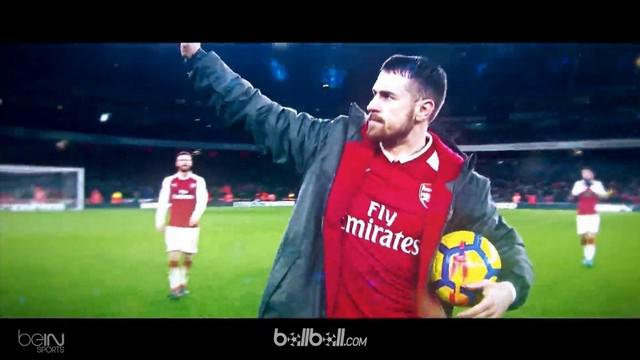 Berita video pemain terbaik pekan ke-26 Premier League 2017-2018, Aaron Ramsey. This video presented by BallBall.