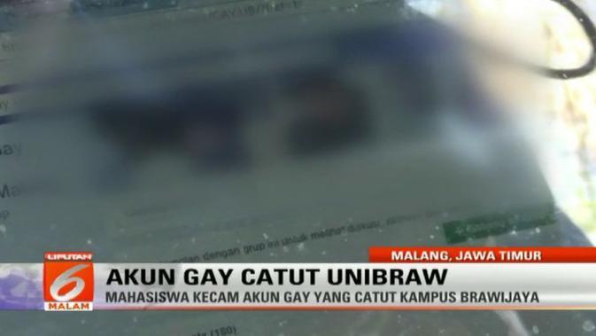 Brawijaya Usut Akun Grup Gay Kampus Ke Jalur Hukum News Liputan6 Com