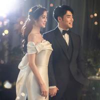 Hyerim eks Wonder Girls dan calon suaminya (Instagram/ wg_lim foto oleh Kama Studio/ studio_kama)