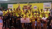 Surabaya Bhayangkara Samator juara Proliga 2018 (Switzy Syahbandar/Liputan6.com)