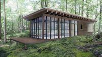 Arsitektur dengan teknologi tinggi menghasilkan desain rumah canggih