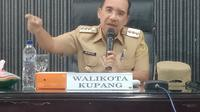 Foto: Wali Kota Kupang, Jefri Riwu Kore (Liputan6.com/Ola Keda)