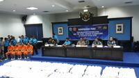 Kepala BNN Budi Waseso merilis pengungkapan kasus sabu (Liputan6.com/Nanda Perdana Putra)