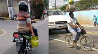 6 Aksi Orang Bawa Tabung Gas Ini Nyeleneh Banget, Kocak (sumber: 1cak gen22.net)