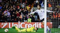 Gelandang Valencia asal Portugal, Andre Gomes. (AFP/Biel Alino)