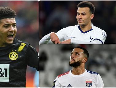 Jadon Sancho dan 5 Bintang yang Gagal Pindah Klub di Bursa Transfer Musim Panas Ini