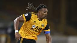 2 - Adama Traore (Wolverhampton Wanderers) - Kecepatan: 96 dan Akselerasi: 97. (Nick Potts/Pool via AP)