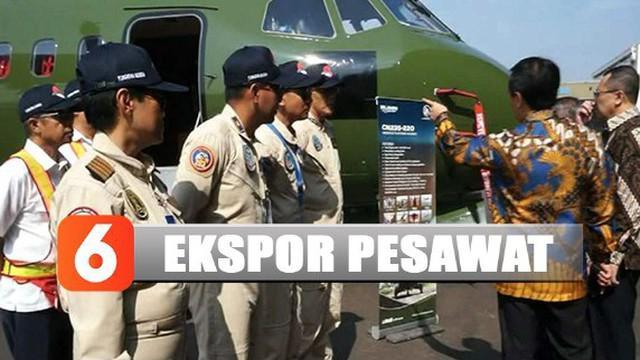 PT Dirgantara Indonesia mengekspor satu pesawat militer ke Nepal pada Rabu (30/10) pagi.