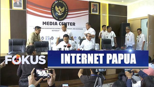 Pemerintah buka akses internet secara bertahap di Papua dan Papua Barat pada 5 September 2019.