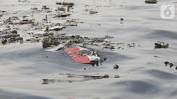 File foto pada 29 Oktober 2018 memperlihatkan nggota Basarnas melihat sekitar saat mencari puing serta korban pesawat Lion Air JT 610 di perairan Karawang, Jawa Barat. Pesawat Lion Air JT 610 yang jatuh dinyatakan laik operasi. (Liputan6.com/Faizal Fanani)