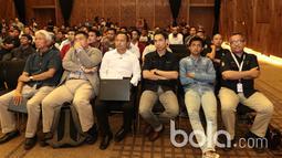 Suasana diskusi Bincang Taktik Bola.com di SCTV Tower, Senayan City, Rabu (29/3/2017). Diskusi ini membahas filosofi pelatih Timnas Indonesia Luis Milla. (Bola.com/Nicklas Hanoatubun)
