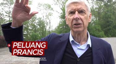 Berita video peluang Timnas Prancis menjuarai Euro 2020 (Euro 2021) menurut mantan pelatih Arsenal, Arsene Wenger.