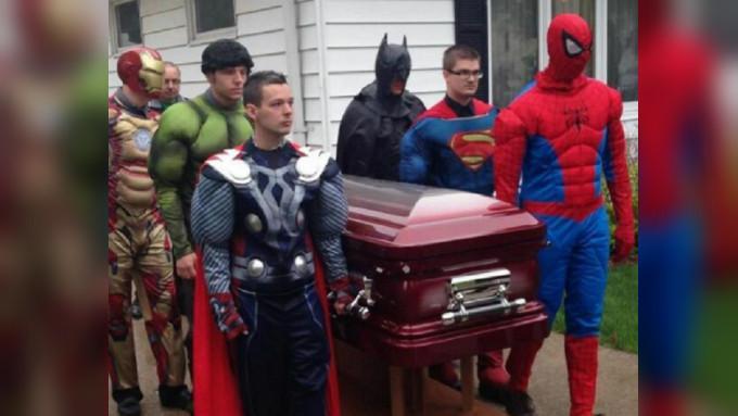 Upacara pemakaman Sebastian Gerena (Twitter/@NYDailyNews)