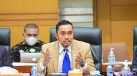 Wakil Ketua Komisi III DPR RI Ahmad Sahroni. (Foto: Jaka/nvl)