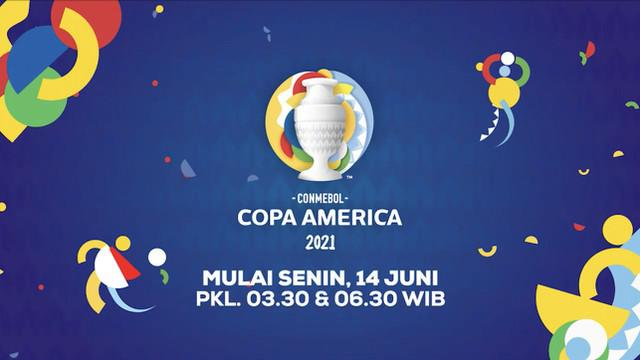 Berita video jangan sampai terlewat laga-laga menarik Copa America yang akan ditayangkan di Indosiar mulai 14 Juni 2021.