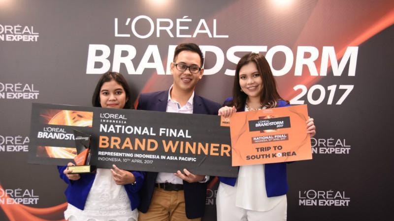 Pemenang BRAND Challenge, Tim Prahara dari UI (L'Oréal Indonesia)