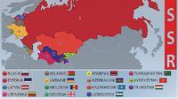 Peta Uni Soviet (iStock)
