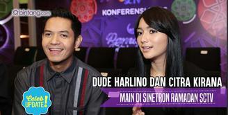 Dude Harlino dan Citra Kirana main satu judul sinetron.
