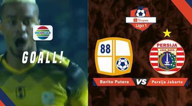 Berita video momen pemain asing Barito Putera, Rafael Silva, saat membobol gawang Persija Jakarta dengan tembakan keras pada pekan pertama Shopee Liga 1 2019 di Stadion 17 Mei, Banjarmasin, Senin (20/5/2019).