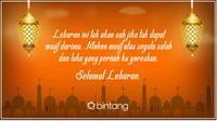 Ucapan Selamat Idul Fitri 2017 (Design: Muhammad Iqbal Nurfajri/Bintang.com)