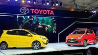 New Toyota Agya dan teknologi hybrid hadir di IIMS 2017