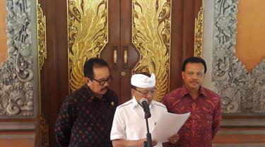 Gubernur Bali Umumkan Status Siaga Penanggulangan Covid-19 di Bali