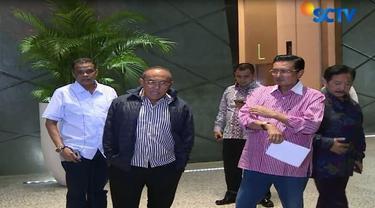 Dalam rapat Dewan Pembina Partai Golkar, akhirnya menyetujui Bambang Soesatyo sebagai calon ketua DPR.