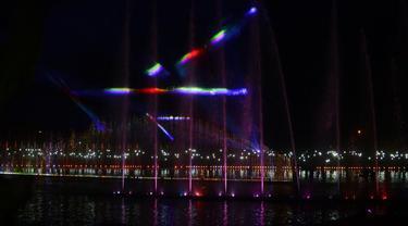 Air Mancur Sri Baduga Purwakarta