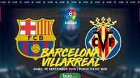 La Liga - Barcelona Vs Villarreal (Bola.com/Adreanus Titus)